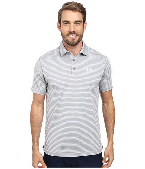 Imbracaminte Barbati Under Armour UA Playoff Polo True Gray HeatherWhiteWhite
