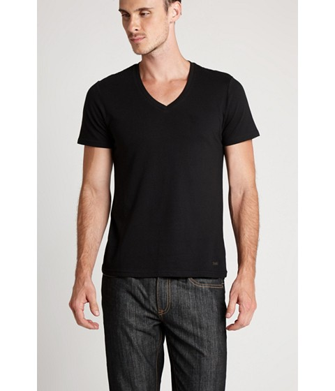 Imbracaminte Barbati GUESS Qualified V-Neck Tee jet black