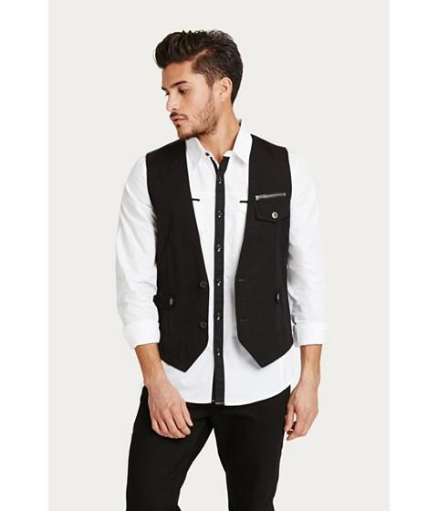 Imbracaminte Barbati GUESS Coffey Vest jet black