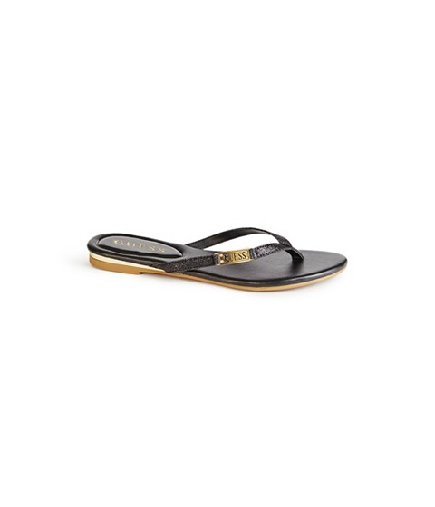 Incaltaminte Femei GUESS Kassie Thong Sandals black