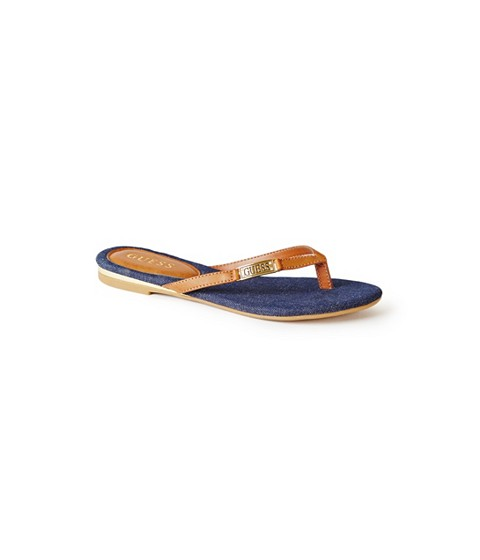 Incaltaminte Femei GUESS Kassie Thong Sandals denim