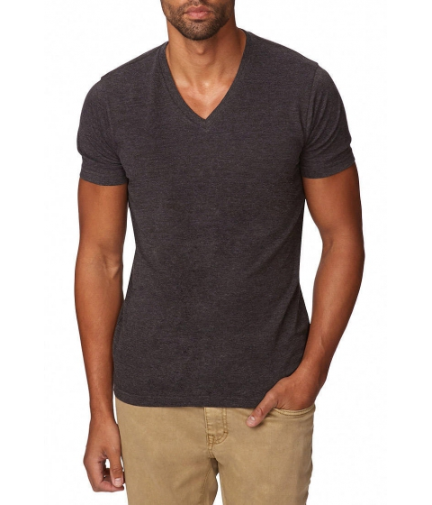 Imbracaminte Barbati Forever21 Basic Heathered Tee Charcoal heather