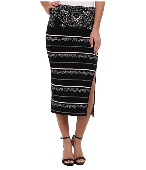 Imbracaminte Femei Free People Swit Pencil Skirt Black Combo