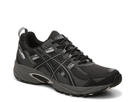 Incaltaminte Barbati ASICS GEL-Venture 5 Trail Running Shoe BlackGrey