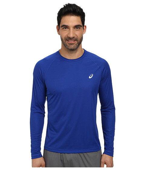 Imbracaminte Barbati ASICS Long Sleeve Crew Air Force Blue