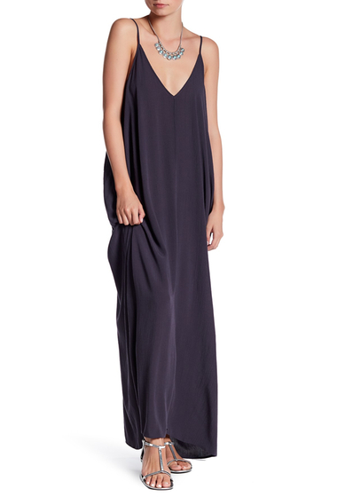 Imbracaminte Femei Love Stitch Gauze Maxi Dress CHARCOAL