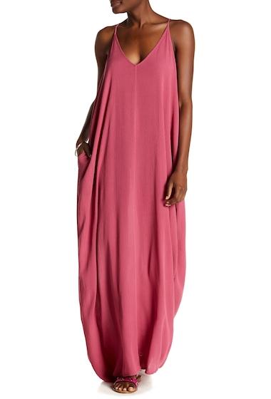 Imbracaminte Femei Love Stitch Gauze Maxi Dress ROSE WINE