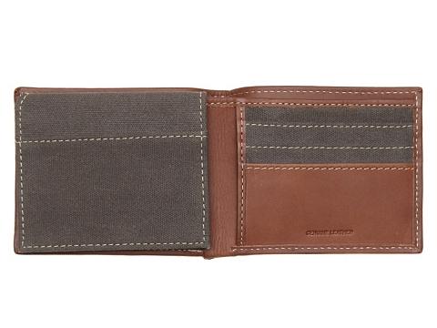 Accesorii Barbati Timberland Timberland Canvas Passcase Wallet GreyBrown