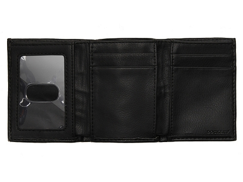 Accesorii Barbati Dockers Dockers Money Clip Leather Wallet Black