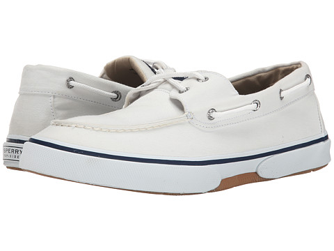 Incaltaminte Barbati Sperry Top-Sider Halyard 2-Eye White