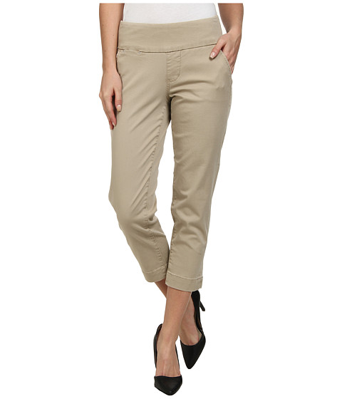 Imbracaminte Femei Jag Jeans Hope Bay Twill Slim Fit Crop British Khaki