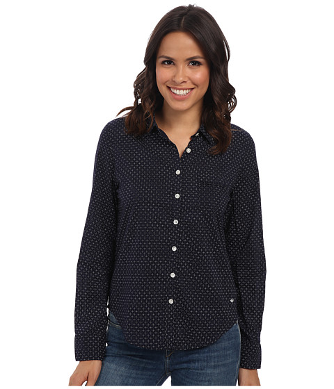 Imbracaminte Femei Dockers Pattern Perfect Shirt Kelli PrintSea Captain Blue
