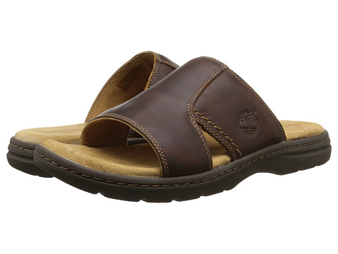 Incaltaminte Barbati Timberland Earthkeepersreg Altamont 20 Slide Brown Full Grain