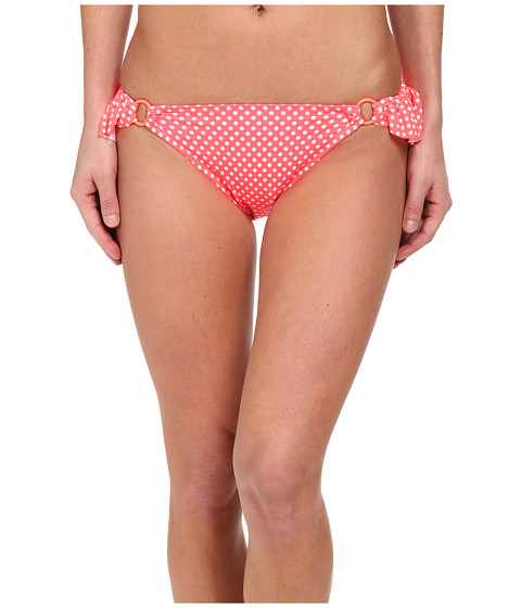 Imbracaminte Femei Gabriella Rocha Hemera Bikini Brief Neon Coral Dot
