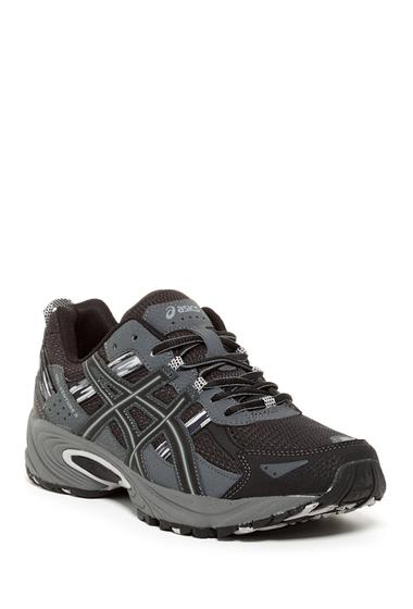Incaltaminte Barbati ASICS GEL-Venture 5 Trail Running Shoe BLACK-ONYX