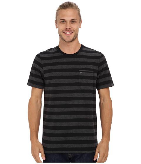 Imbracaminte Barbati Hurley Captain Knit Crew T-Shirt Black