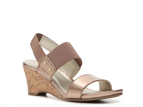 Incaltaminte Femei Mootsies Tootsies Shenan Wedge Sandal Rose Gold