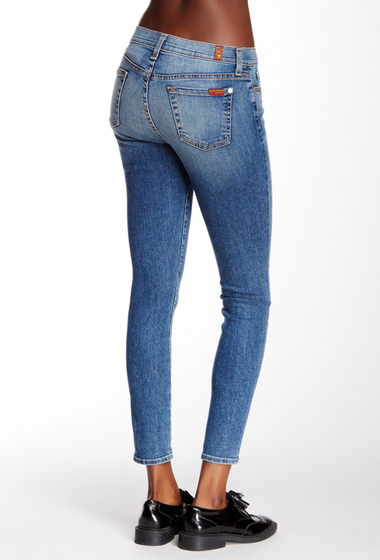 Imbracaminte Femei 7 For All Mankind Ankle Skinny Jean IBIZAISLND