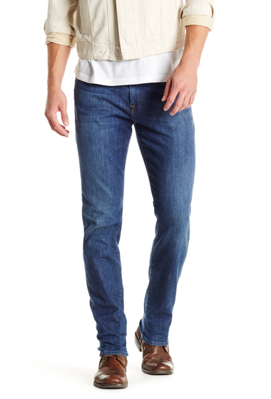 Imbracaminte Barbati 7 For All Mankind Slimmy Slim Straight Leg Jean WESTLAKE