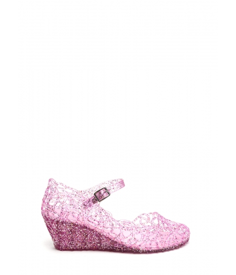 Incaltaminte Femei CheapChic New In Town Jelly Wedges Pink