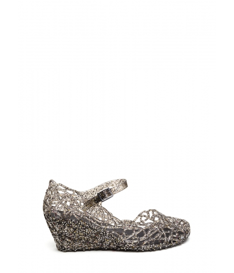 Incaltaminte Femei CheapChic New In Town Jelly Wedges Smoke