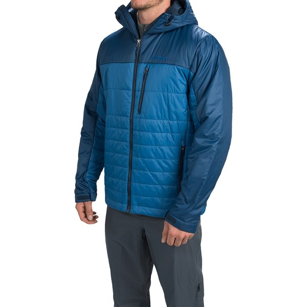 Imbracaminte Barbati Marmot Caldera Hooded Jacket - Insulated BLUE SAPPHIRE DARK INK (05)
