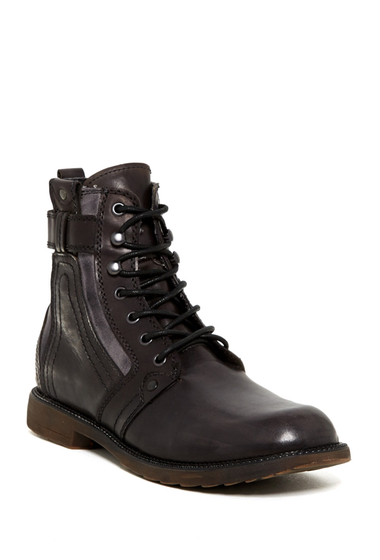 Incaltaminte Barbati BedStu System Lace-Up Boot BLACK HANDWASH-GREY
