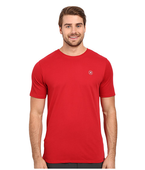 Imbracaminte Barbati Hurley Staple Dri-Fit Tee Gym Red