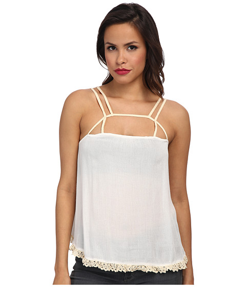Imbracaminte Femei Free People Summer Straps Cami Ivory Combo