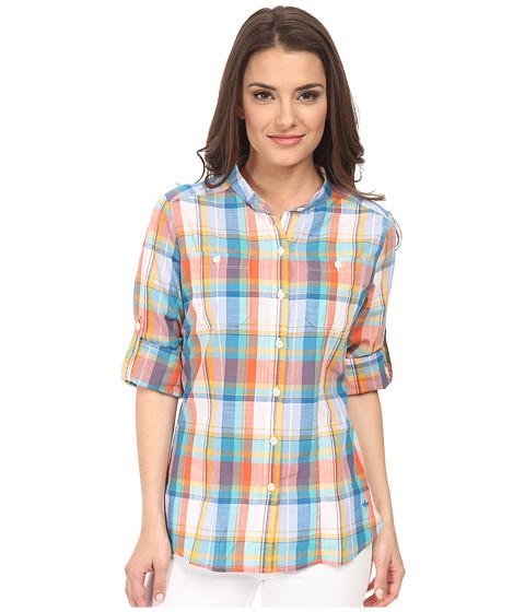 Imbracaminte Femei Dockers Petite The Convertible Cargo Shirt Abigale PlaidMulti