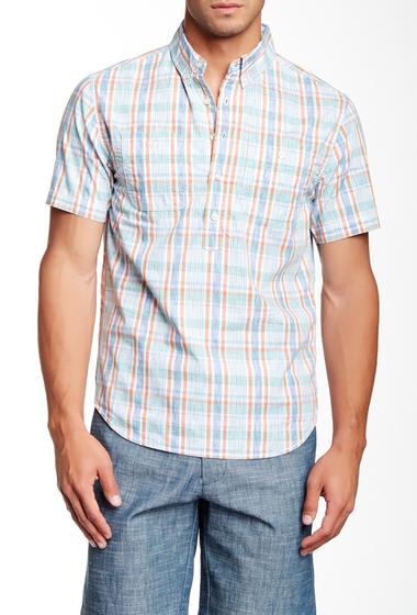 Imbracaminte Barbati Barque Fancy Plaid Pullover European Fit Shirt GRASS