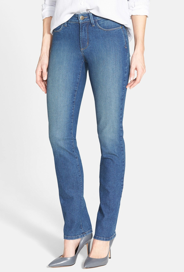 Imbracaminte Femei NYDJ Samantha Stretch Slim Straight Leg Jean WILMINGTON WASH
