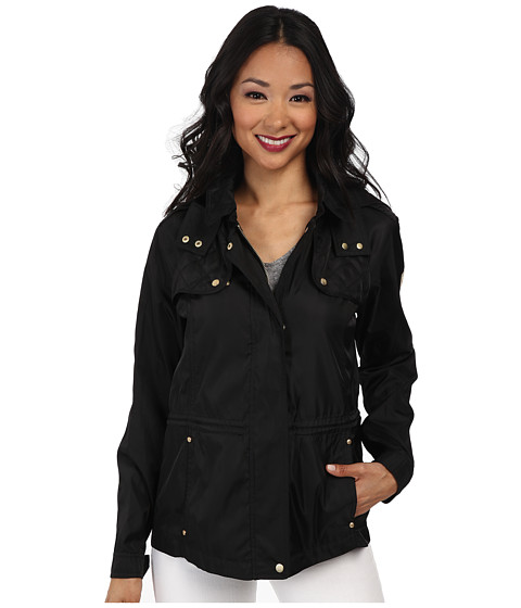 Imbracaminte Femei Vince Camuto Hooded Parka w Quilting Anorak Black