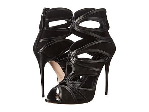 Incaltaminte Femei Alexander McQueen Sandal Pelle S Cuoio BlackBlack
