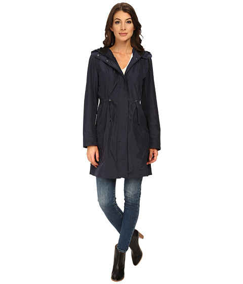Imbracaminte Femei Rain Forest Packable Anorak w Contrast Roll Back Cuff Navy