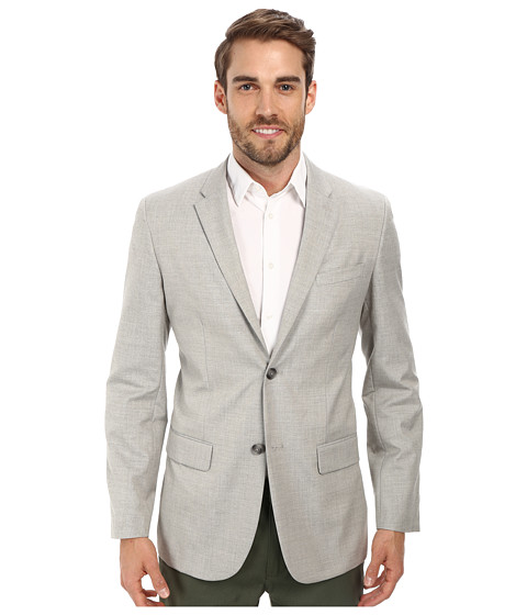 Imbracaminte Barbati Perry Ellis End On End Suit Jacket Alloy