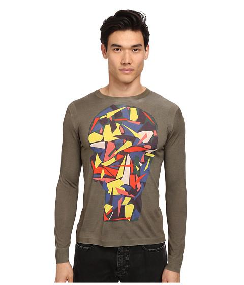 Imbracaminte Barbati Marc Jacobs Scrap Losion LS Sweater Pale Palm