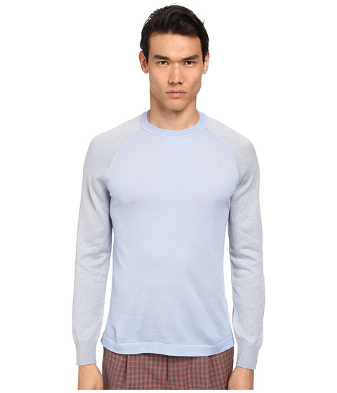 Imbracaminte Barbati Marc Jacobs Merino Lurex Raglan Sleeve Sweater Blue Sky