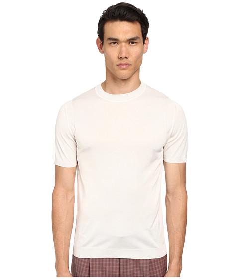 Imbracaminte Barbati Marc Jacobs Silk Jersey SS Sweater Ivory