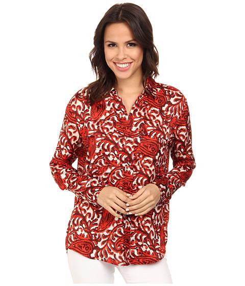 Imbracaminte Femei Michael Kors Kathumar Pocket Long Sleeve Button Down Shirt Grenadine