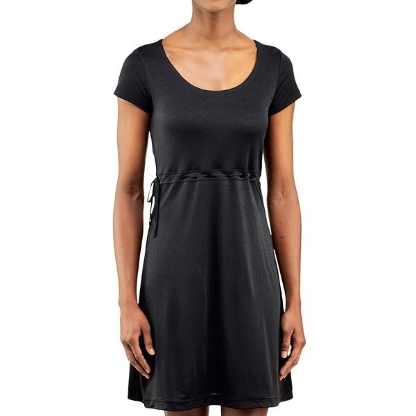 Imbracaminte Femei Merrell Siena Cinch Dress - Short Sleeve BLACK (01)