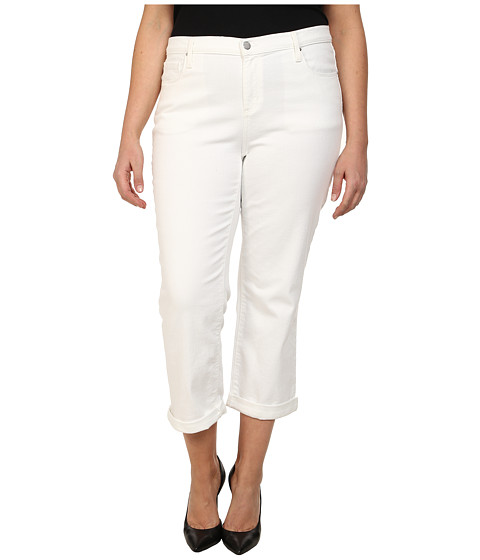 Imbracaminte Femei DKNY Plus Size Soho Skinny Rolled Crop in White White