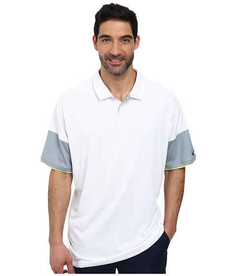 Imbracaminte Barbati Nike Golf Major Moment Commander Polo WhiteDove GreyVoltAnthracite