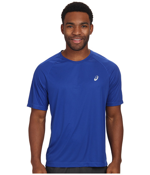Imbracaminte Barbati ASICS Short Sleeve Tee Air Force Blue