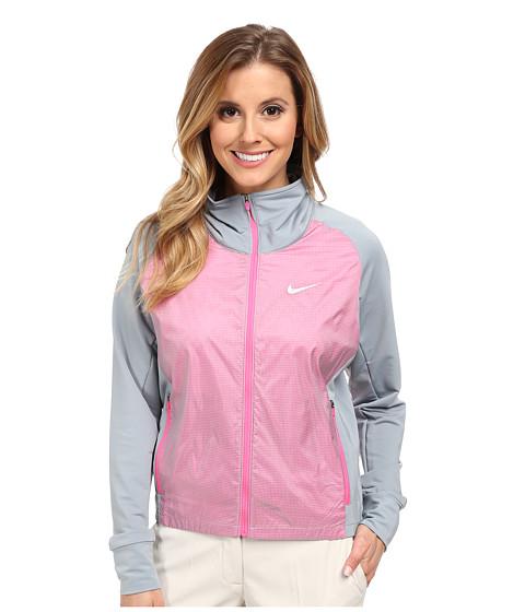 Imbracaminte Femei Nike Long Links Jacket Dove GreyPink PowPink PowMetallic Silver