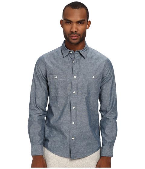 Imbracaminte Barbati Jack Spade Polk Chambray Work Shirt Indigo