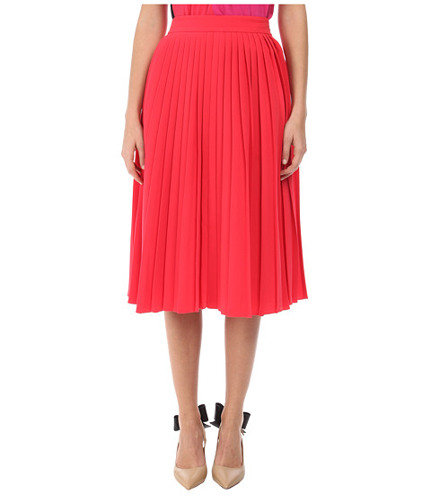 Imbracaminte Femei Kate Spade New York Accordion Pleat Crepe Skirt Aladdin Pink