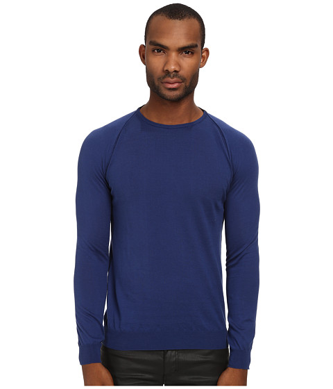 Imbracaminte Barbati Costume National Knit Sweater Indigo