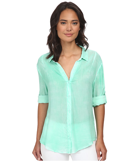 Imbracaminte Femei Gabriella Rocha Penny Button Up Top Mint