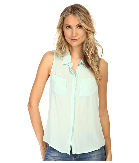 Imbracaminte Femei Splendid Rayon Voile Tank Top Surf Spray